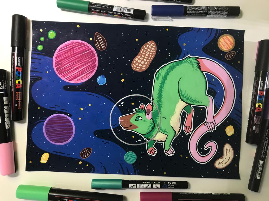 A Trip to the Munch-Galaxy!
