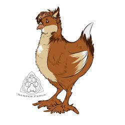 Chicken Fluff