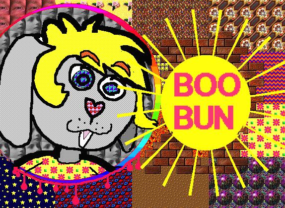 BooBoo Kid Pix Badge