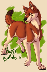 Happy Birthday nerd