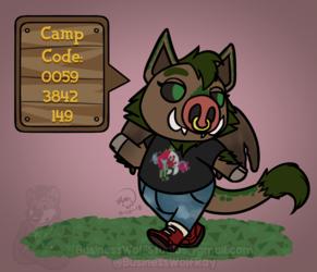Pocket Camp Texer [Comm]