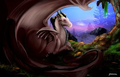 Enalys lair (by Gnomecake)
