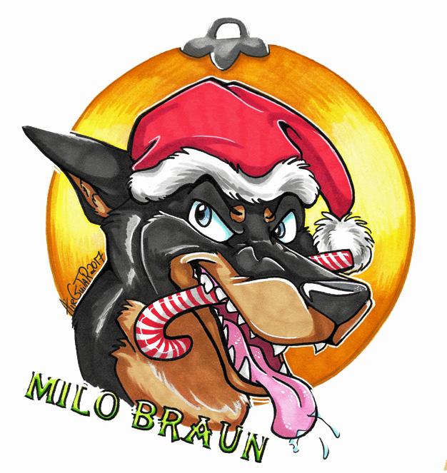 Reg Headshot Badge - Milo Braun
