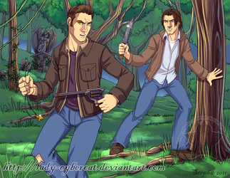 Hunting Party Winchester Style