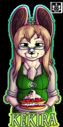 Cafe themed badges - Kekira - Example