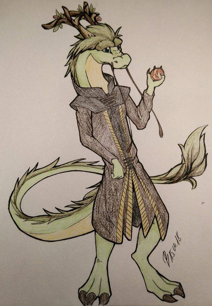 Request: Elder noodle Kahli