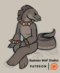 Kiba Wolf: Vanora [Patreon Reward]