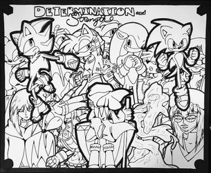 determination & strength 2020 cover