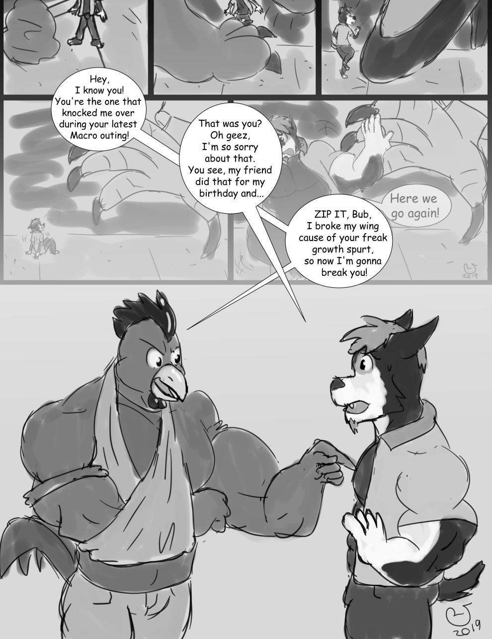 Patreon: Birthday Comic 9