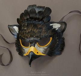 Black Gryphon Leather Mask