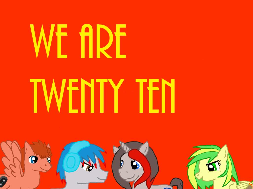 We Are Twenty Ten Cover