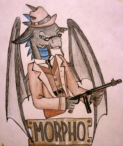 Morpho- BLFC Roaring 20's Badge