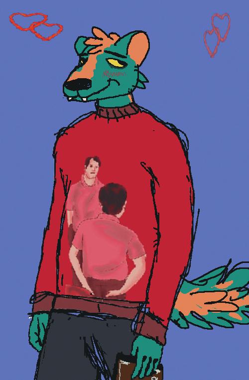 Marcus, A Skunk Boyfriend