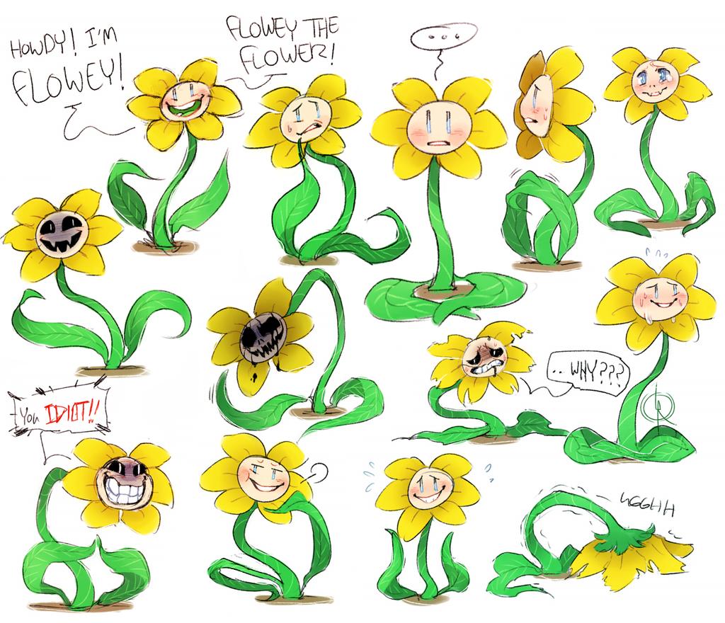 Undertale: Flowey The Flower
