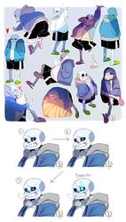 Undertale: Sketch Dump #4
