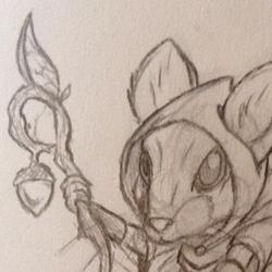 Mouse Druid