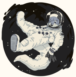 Heat sketches 02-06-2019 - Rennie astronaut