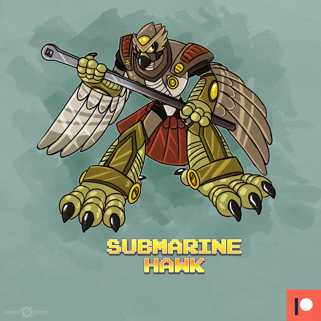 Submarine Hawk!