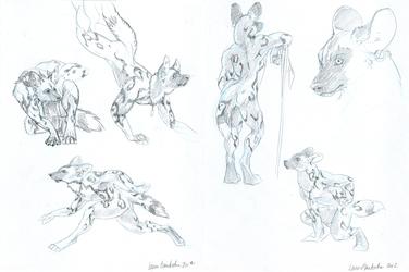 'Utunu Sketches' by Laura Garabedian