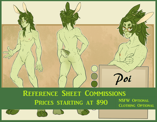 Reference Commissions Open