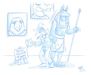 Curse Of Anubis (1/6) by Cooner