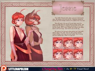 Changeling Tale - Jessie Character Sheet