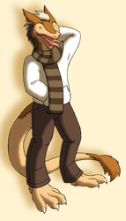 Commission: Like My Scarf?