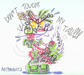 Don't touch my tail!!!
