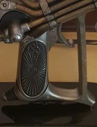 Custom Dr. Grordbort's Righteous Bison Raygun Stand: Minimalist Design