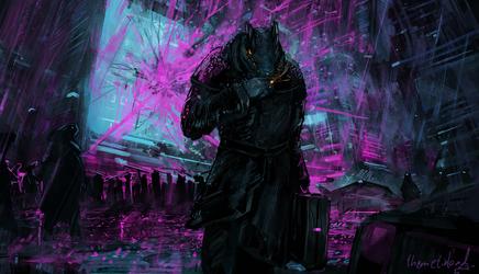 Corporate warfare [commission]