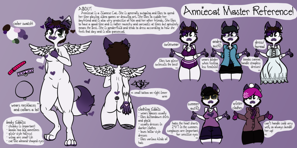 [Personal] Anniecat Master Reference Sheet