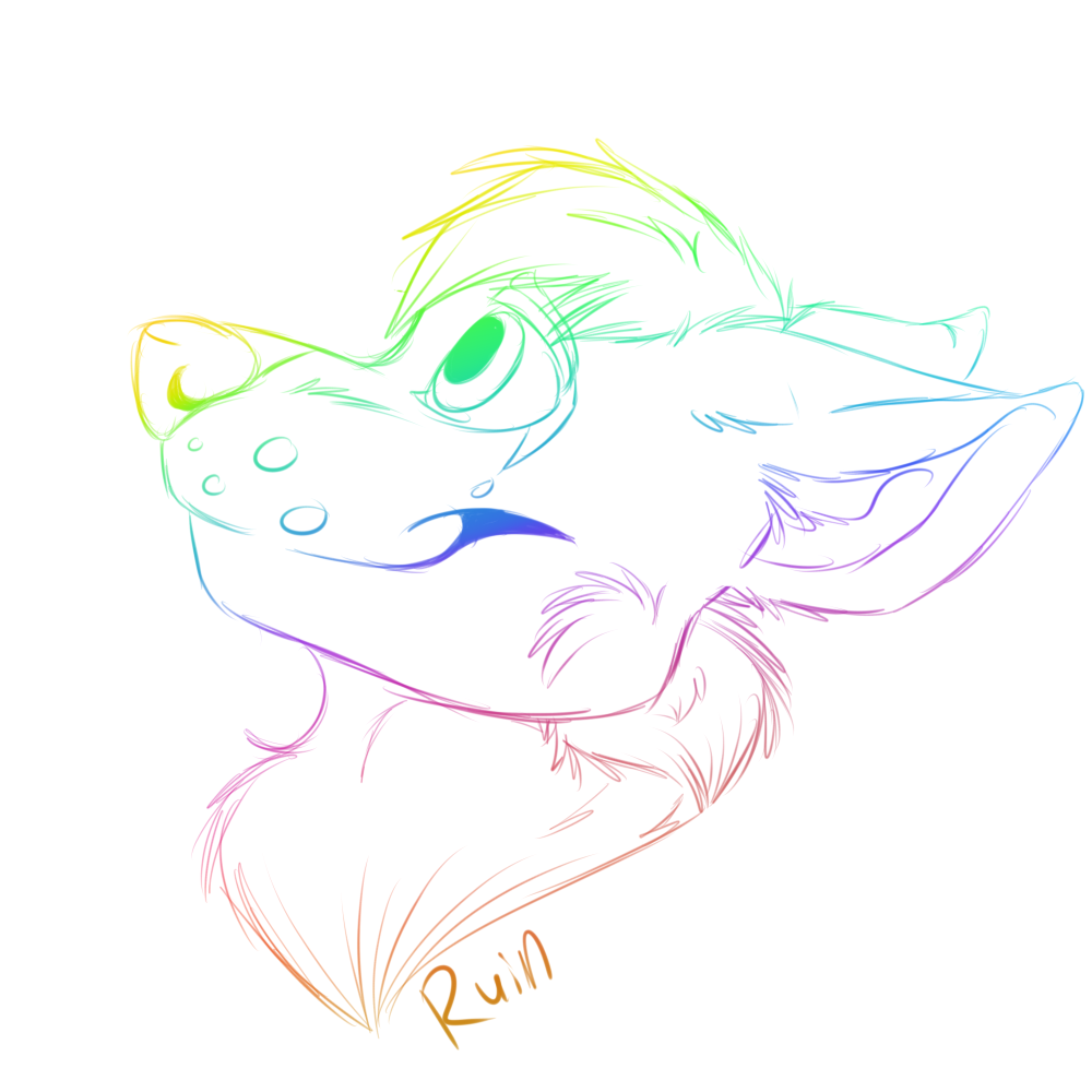 ruin rainbow headshot