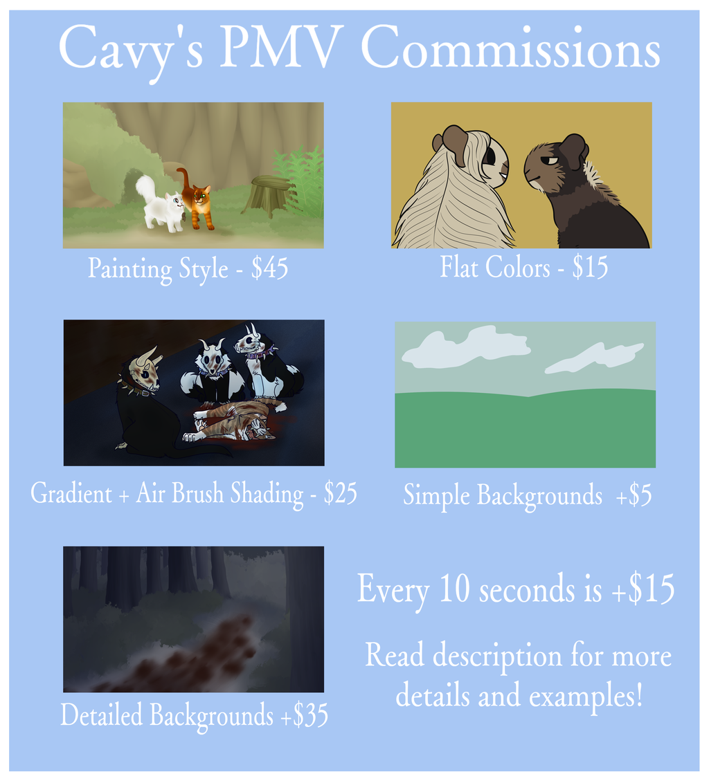 Most recent image: PMV Commissions (OPEN)