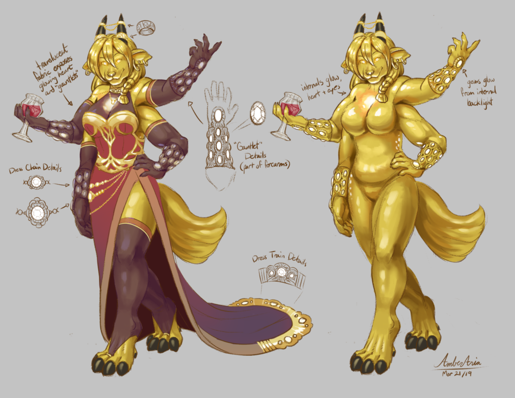 Treasure Moof Character Design