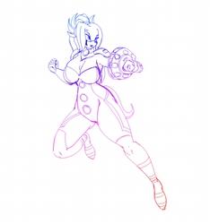Ehma Cosplay Omega Sentinel
