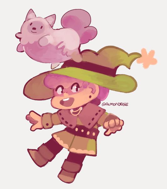 Beancat & Witchy dooble