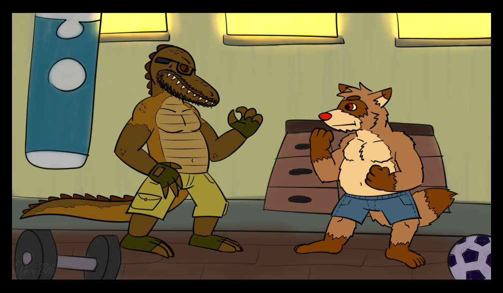 Most recent image: Raffa and Len: Sparring Session