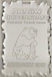 Fandom Track Lead Acrylic Badge.