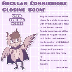 Closing commissions soon