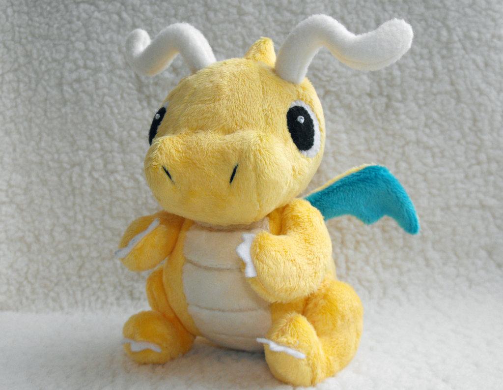 Kids toys MADE TO ORDER Amigurumi Dragonite QEBXAJKWAF | 793x1024