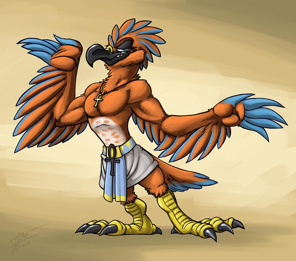 Classic Egyptian Birdie