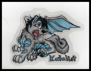 Feral Katalist Badge by FigN01