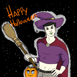 Spock as a Witch