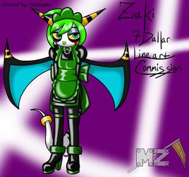 (Coloring) Maid Zeti Zaki By Reneesinnerirken