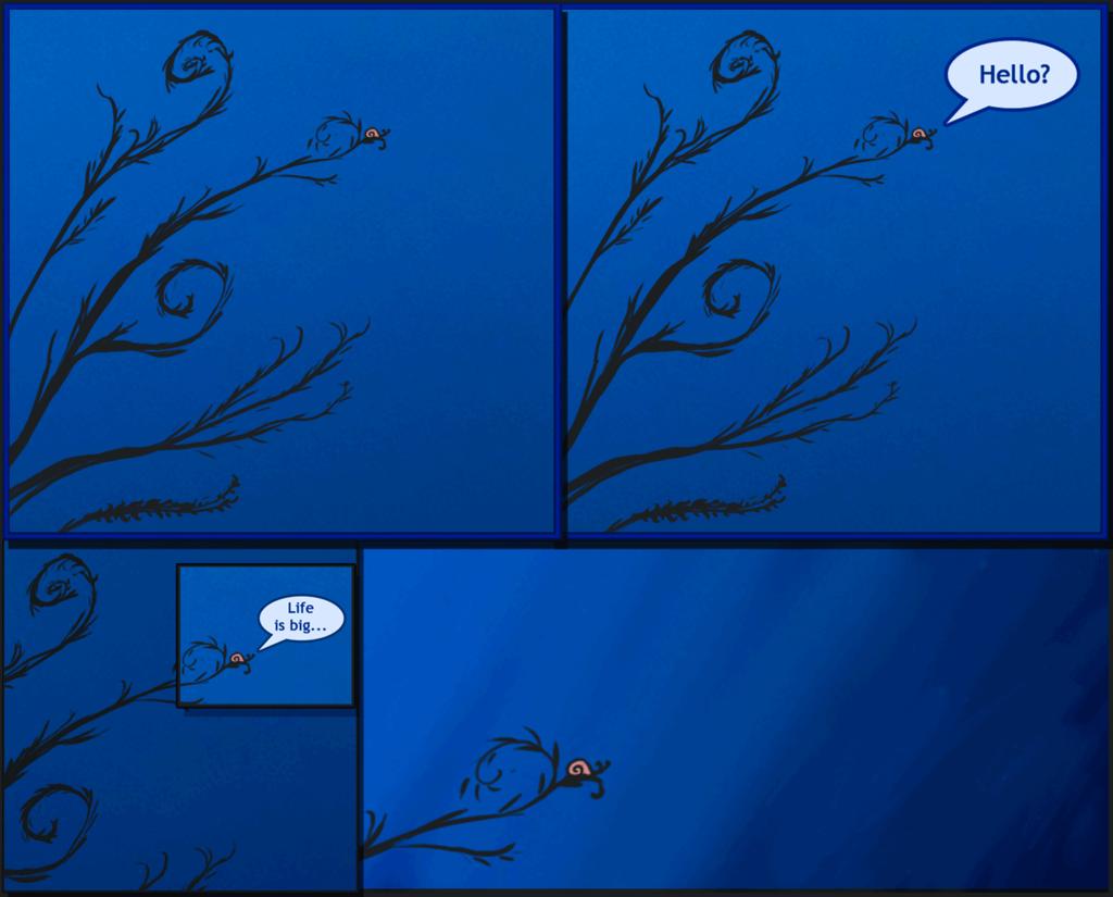 Snail Traveler Comic