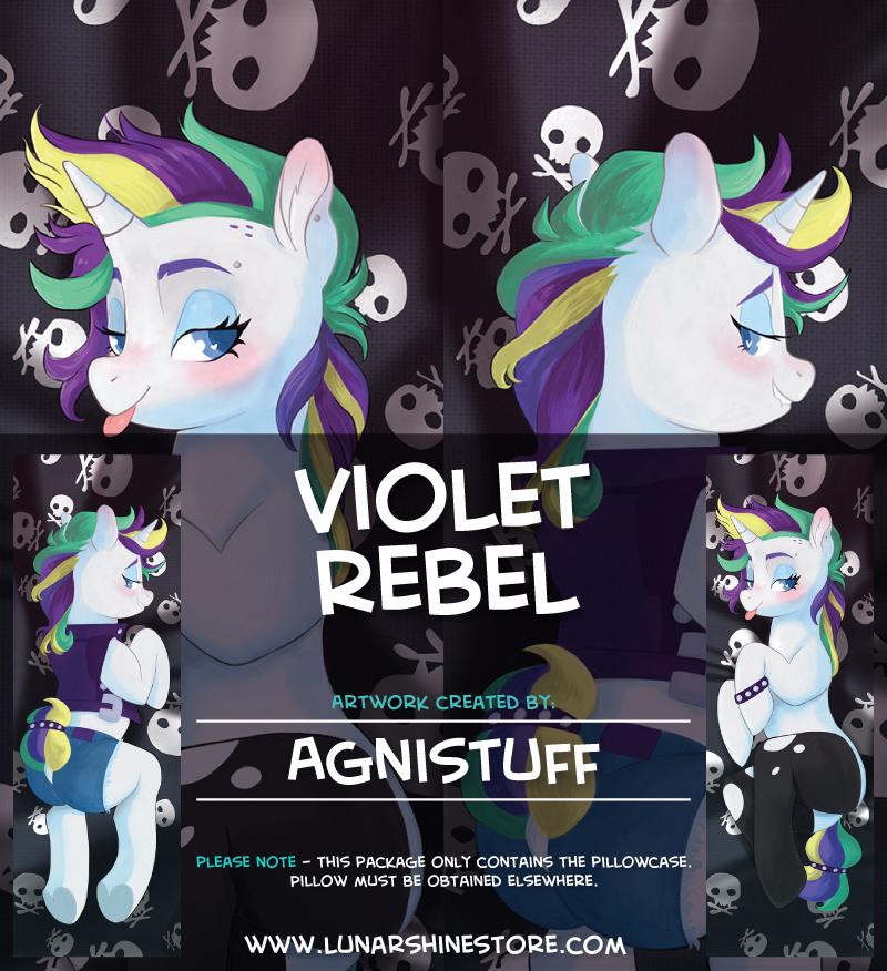Violet Rebel by Agnistuff