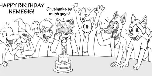 Happy Birthday Nemesis