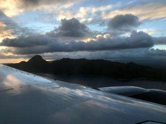 Arrival at Hawaii