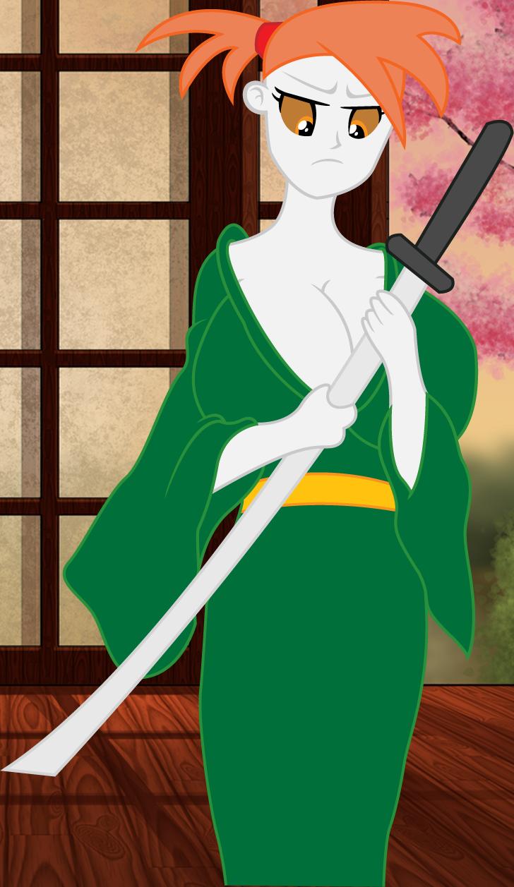 Masami [Original Rule 63 Bludgeon]