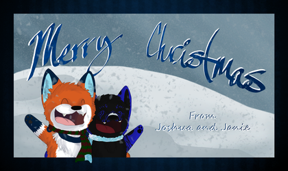 Merry Christmas! - Art by Janie